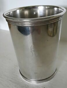 Vintage Alvin S 251 Sterling Silver Mint Julep Cup A Mono