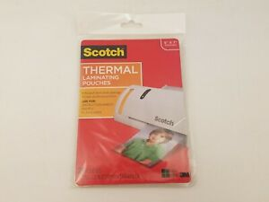 Scotch 3m Thermal Laminating Pouches 20 Count 5 X 7 5 Mil Tp5903 20