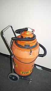 Pullman holt Model 102 Orange Hepa Wet Vacuum 120vac 11 1a