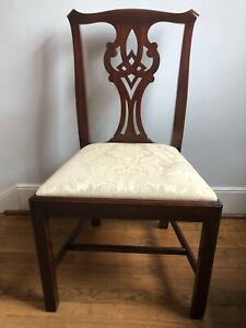 Henkel Harris Chippendale Mahogany Model 101 Side Chair