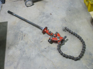 Ridgid Chain Soil Pipe Cutter 246 Pt 32900 1 1 2 To 6 Pipe
