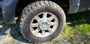 Like New Mud Tires And Wheels Oem Ford F250 20in Rims