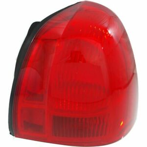 Halogen Tail Light For 2003 2011 Lincoln Town Car Right Red Lens Capa