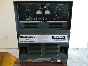 Lincoln Idealarc R3s 400 Tig Mig Arc Stick Dc Welder Power Source 3phase 230 460