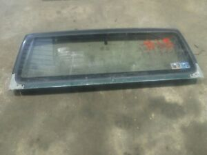 Jeep Wrangler Tj 97 02 Factory Windshield Frame Bad Glass 15