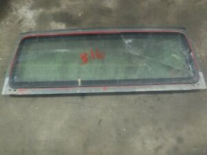 Jeep Wrangler Tj 97 02 Factory Windshield Frame Bad Glass 16