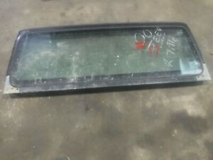 Jeep Wrangler Tj 97 02 Factory Windshield Frame Bad Glass 17