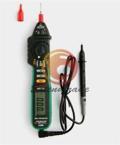 1pc New Digital Multimeter Ms8212a Pen Type Dc Ac Voltage Current Tester