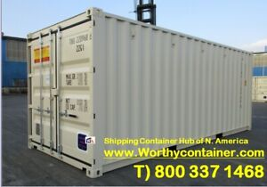 20 New Shipping Container 20ft One Trip Shipping Container In Detroit Mi