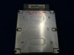 96 1996 Ford Mustang Cobra Dohc Manual Ecu Computer Zxa3 Used Take Off 206