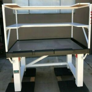 Newport Sg 30x48 2 vh3048w opt Isolation Table With Top Shelfs