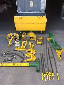 Shipsfob Greenlee 640 4000 Cable Tugger Wire Puller Package 6001 686 5260
