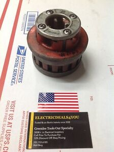 Pre owned Ridgid 37485 12r 3 4 Die Head W dies 7188