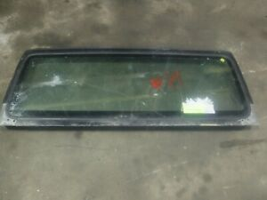Jeep Wrangler Tj 97 02 Factory Windshield Frame Bad Glass 21