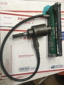 Greenlee 767 Ram Hand Pump Hydraulic Driver Kit 6282