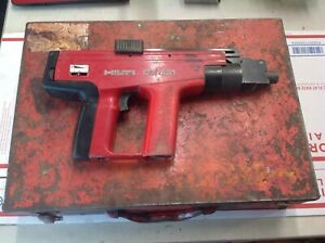 For Parts repair As Is Hilti Dx 451 Powder Actuated Nail Gun With Case sm1001