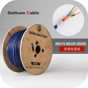 1meter 85015 85055 Power Cable Soft Gotham Gpc Audio Cable