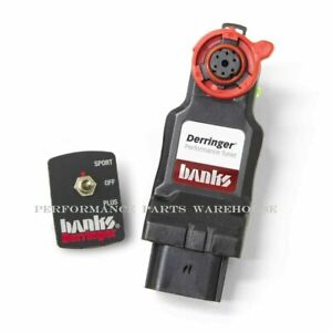 Banks Derringer Tuner W Switch 2014 18 Ram 1500 3 0l Eco Diesel