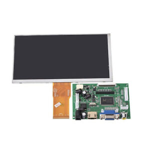 7 inch Lcd Screen Display Monitor For Raspberry Pi Driver Board Hdmi vga 2jh