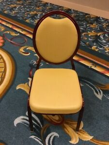 Used Banquet Chairs ballroom Chairs stack Chairs Shelby Williams 200 Available