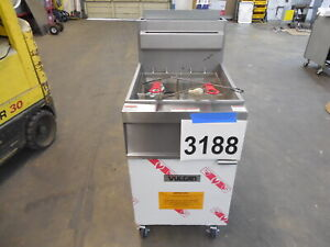 3188 New S d Vulcan Deep Fryer 65 70 Lb Capacity Nat Gas Model 1gr65m 1