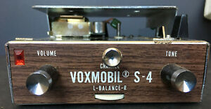 Vintage Nos Itc Voxmobil S 4a Car Stereo 4 Track Tape Player Original Packaging