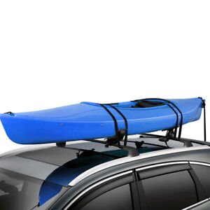 Universal Fit Mount Roof Top Saddle Rack Canoe Surf Boat Kayak Carrier