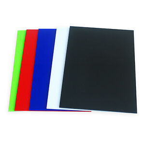 Various Colors Acrylic Sheet Plexiglass Perspex 3mm Thick 148mm X 210mm A5 Size