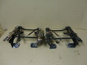 92 96 97 Ford Pickup Truck Front Bucket Seat Frame Brackets Tracks