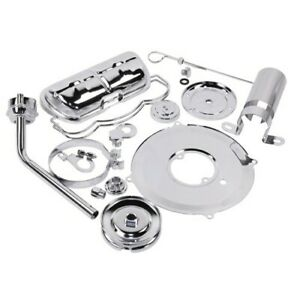 Super Chrome Deluxe Dress Up Kit For Aircooled Vw Engines Dunebuggy