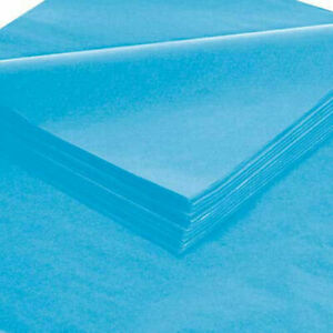 20 X 30 Turquoise Tissue Paper 480 Pack Lot Of 1