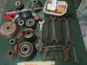 Lot Of Ammco Brake Lathe Accessories