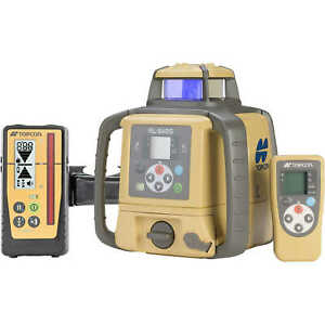 Topcon Dual slope Laser Level Model Rl sv2s W rechargeable Ni mh Battery And