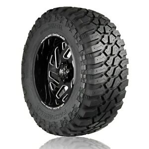 4 X 35x12 50r20 Off road Monster Rampage M t 121q E 10 Ply Tires