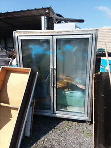 Commercial Copeland 2 Door Beer Soda Cooler Bar Beverage Equipment Restaurant