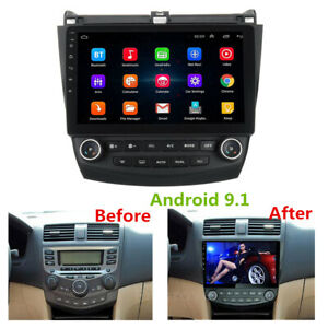 10 1 Android 9 1 Radio Gps 2gb 32gb Wifi A C Dash Panel For Honda Accord 03 07