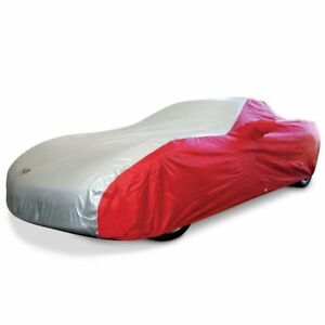 C5 Corvette Car Cover 2 Tone With Embroidered Logo