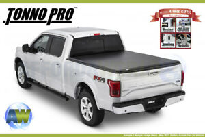 Hard Fold Folding Tonneau Cover Tonno Pro 82 2011 Ford Ranger 6 1ft Bed