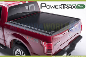 14 18 Silverado Sierra 1500 5 8ft Bed Crew Powertraxpro Cover W O Stake Pockets