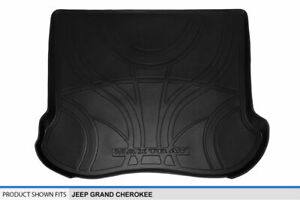 2005 2010 Jeep Grand Cherokee Black Cargo Liner Behind Rear Seat Floor Mat Tray