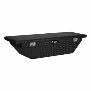 Uws Angled Crossover Low Profile 63 Black Tool Box 05 17 Tacoma 01 11 Dakota