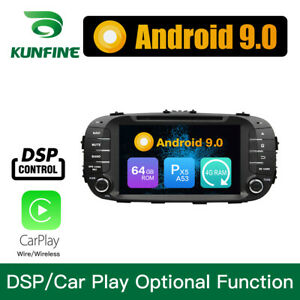 Android 9 0 Octa Core Car Dvd Gps Player Stereo Navigation For Kia Soul 14 16