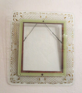 20 X18 Antique Reverse Painted Picture Frame