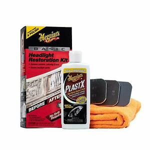 Meguiars G2960 Basic Headlight Restoration Kit 4 Fluid_ounces