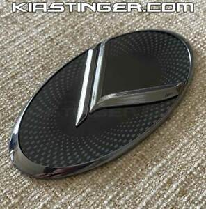 Vintage K Replacement Emblem For Kia Stinger High Quality Heavy Duty Metal