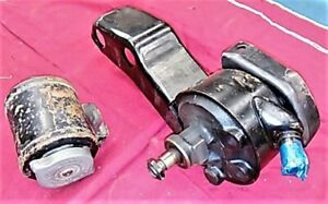 1966 68 396 Chevelle Power Steering Pump And Remote Reservoir Can Gm Original
