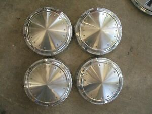 68 69 70 71 72 73 74 Valiant Cuda Road Runner Gtx Plymouth Dog Dish Hub Caps 4