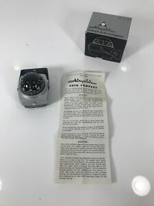 Vintage Nomad Auto Compass By Airguide Model 79c Car Truck Boat Rv Nos New Lite