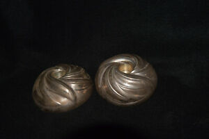 Vintage Towle Sterling Silver Candle Holder Pair 430 By Southwind