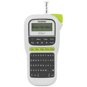 P Touch Label Maker Machine Brother Printer Portable Easy To Use One Keys White